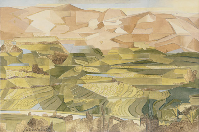 , 'Rice Fields, Plani Hills - II,' 2008, Aicon Gallery