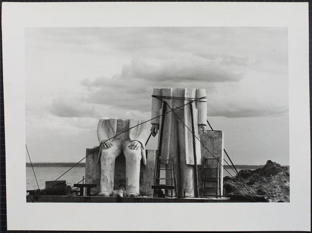 , 'Das Denkmal, Gummlin, Usedom, Mai 1984,' 1988, Loock Galerie