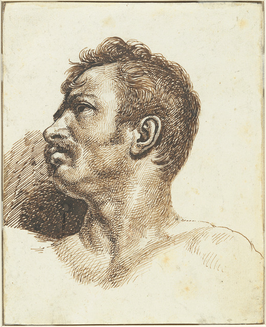 Théodore Géricault, 'Head of a Man [recto],' , National Gallery of Art, Washington, D.C.