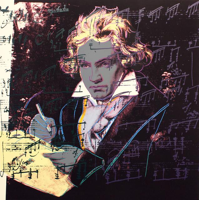 , 'Beethoven (FS II.393),' 1987, Gormleys Fine Art
