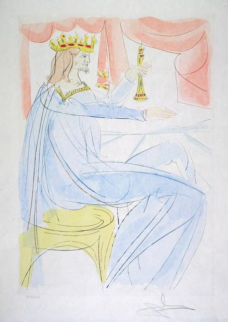 Salvador Dalí, 'King Solomon', 1975, Goldmark Gallery
