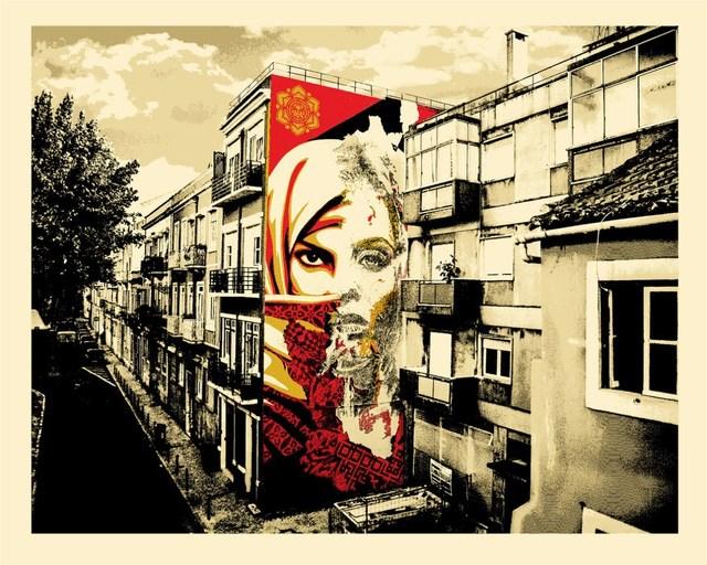 Vhils, 'Universal Personhood - Lisbon', 2018, Blackline Gallery