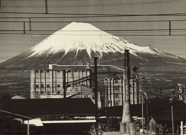 , 'Mt.Fuji From a Train, Near Fujinomiya,' 1955, J. Paul Getty Museum
