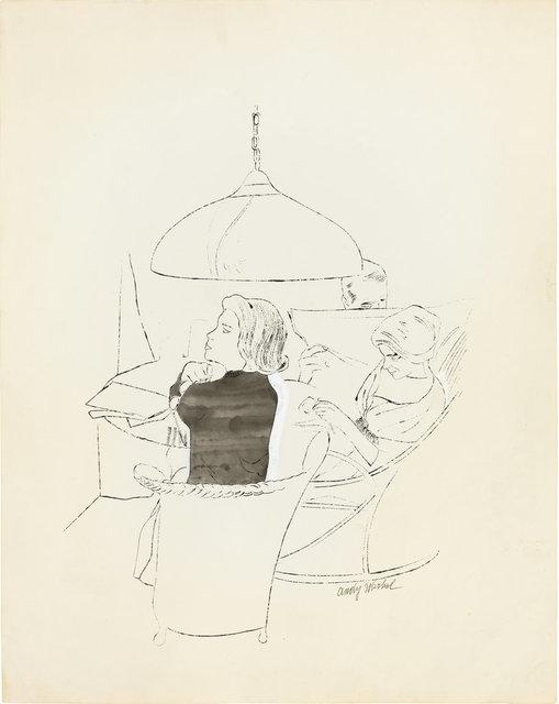 , 'Ohne Titel,' ca. 1958, Ludorff