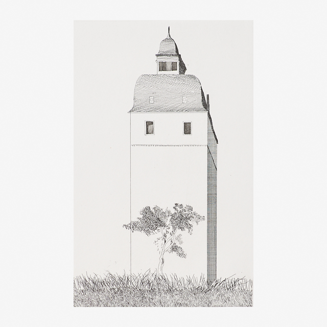 David Hockney, 'Bell Tower, from Six Fairy Tales from the Brothers Grimm', 1969, Rago