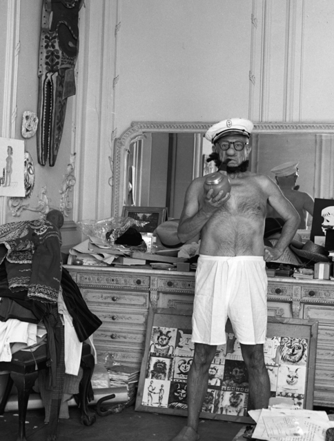 , 'Picasso as Popeye, Cannes, France,' 1957, Suite 59 Gallery