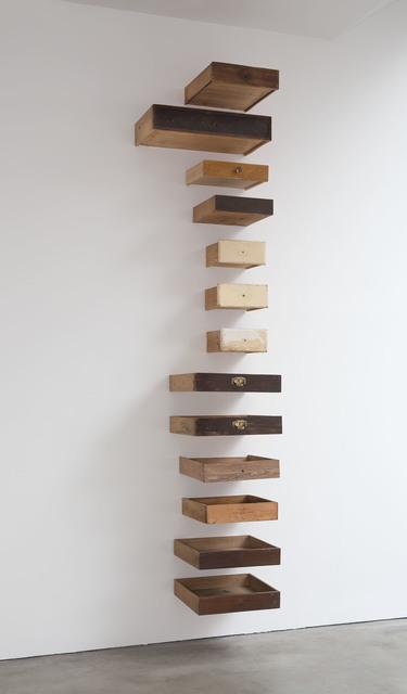, 'Schubladen,' 2015, Galerie Thomas Schulte