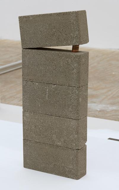 , 'Untitled (Lo real es aquello a lo que no hay que ceder),' 2017, Johannes Vogt Gallery