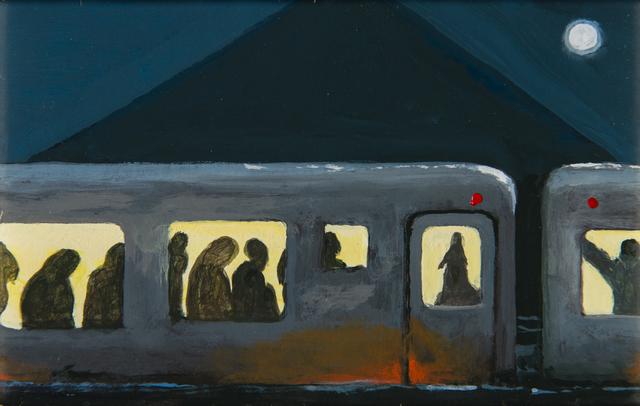, 'Nubian Express Full Moon,' 2000, Luis De Jesus Los Angeles