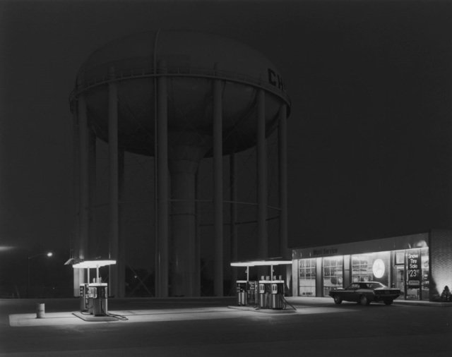 , 'Petit's Mobil Station, Cherry Hill, New Jersey,' 1974, Afterimage Gallery
