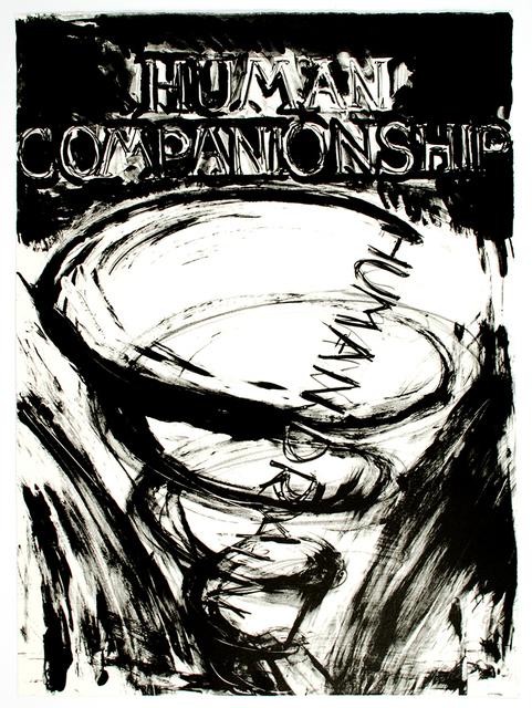 Bruce Nauman, 'Human Companionship, Human Drain', 1981, Brooke Alexander, Inc.
