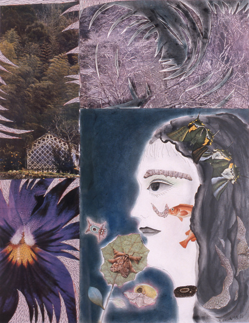 , 'Flowers and Self-Portrait,' 1973, Louisiana Museum of Modern Art