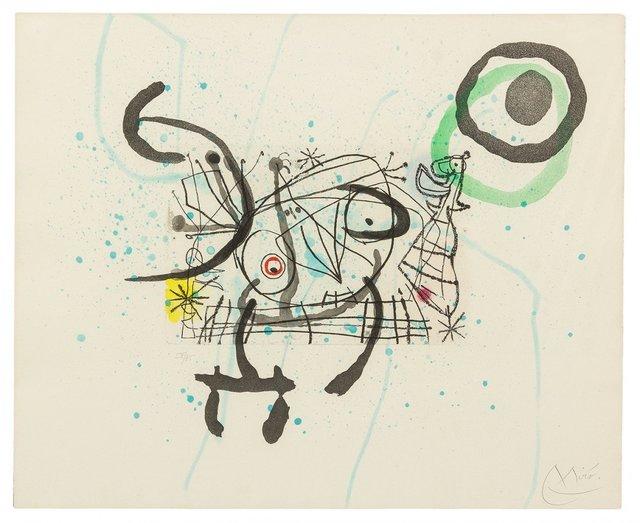 Joan Miró, 'FISSURES PLATE IX', 1969, Gallery Art
