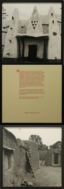 , 'Untitled Vertical Triptych (From the Africa Series),' 1993, James Harris Gallery