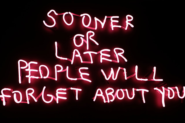 , 'Sooner or Later,' 2018, One Arts Club