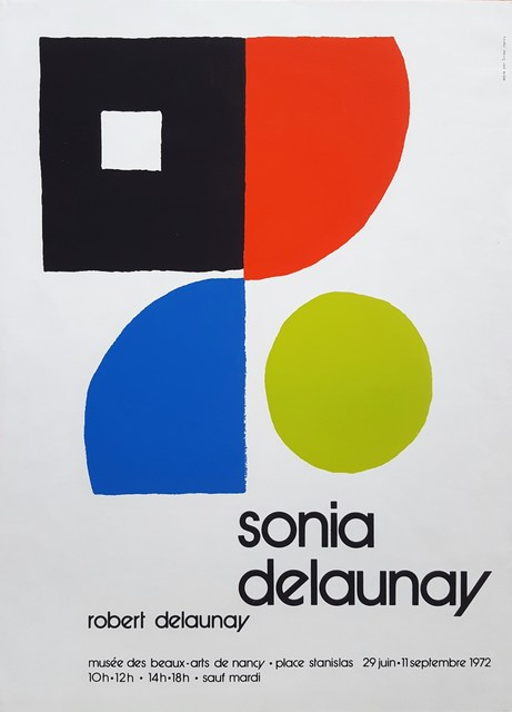 Sonia Delaunay, 'Musee des Beaux-Arts: Sonia Delaunay & Robert Delaunay', 1972, Graves International Art