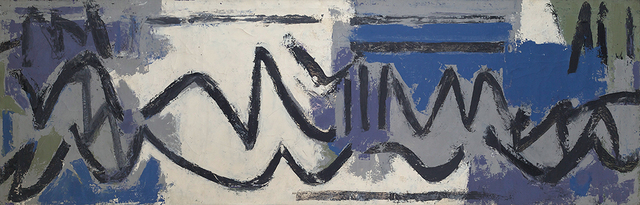 , 'So It Is (No. 9),' 1960, Berry Campbell Gallery