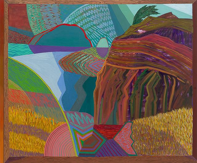 , 'Closed Window 7 (Sea Ranch),' 2018, Gregory Lind Gallery