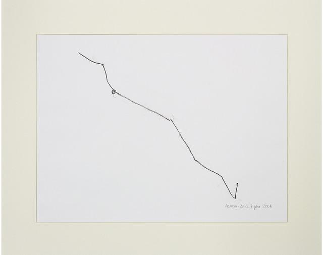 , 'Desire Lines / Asmara - Zurich 2,' 2013, A|B|C ontemporary