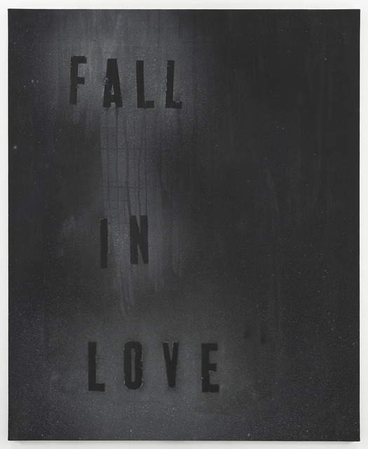 Mark Flood, 'FALL IN LOVE,' 2013, Feuer/Mesler