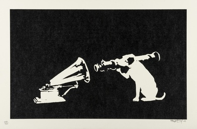 Banksy, 'HMV,' 2004, Forum Auctions: Editions and Works on Paper (March 2017)