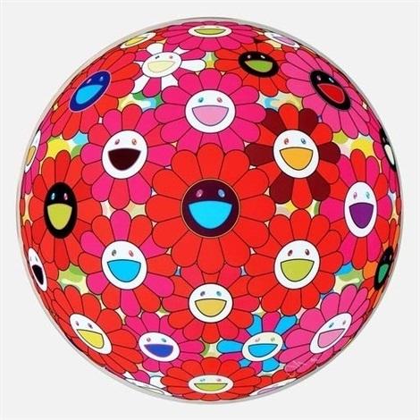 , 'Flower Ball (3D) Blue, Red,' 2013, Rosenfeld Gallery LLC