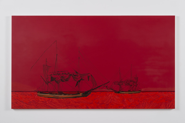 , 'Two Ships (Wilder shores of love),' 2014, Susanne Vielmetter Los Angeles Projects