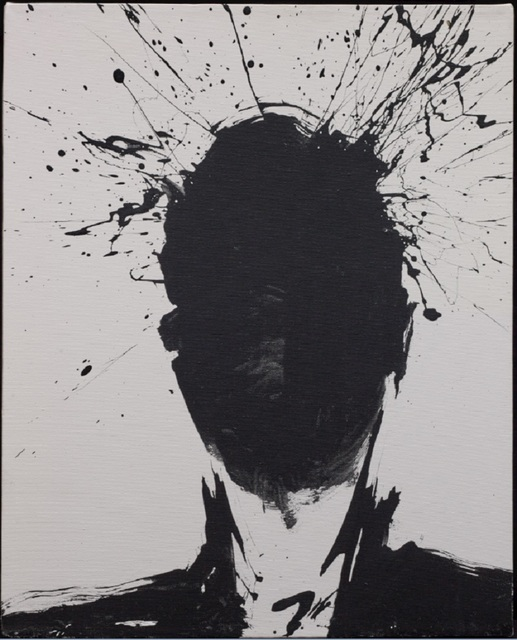 , 'Shadow Head withWhite Background ,' 1992, Maddox Gallery