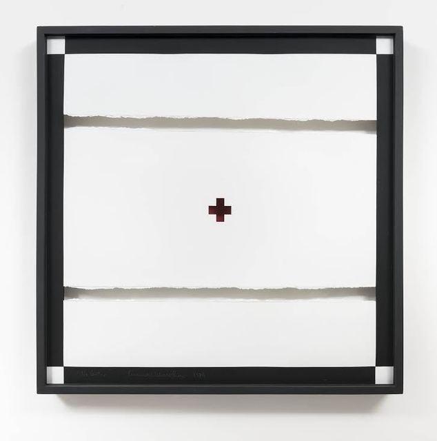 """, '""""No centro"""", from the Desenhos Objetos series,' 1974-1975, Bergamin & Gomide"""