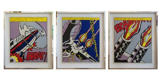 Roy Lichtenstein, 'As I Opened The Fire', 1966, Galerie Kellermann