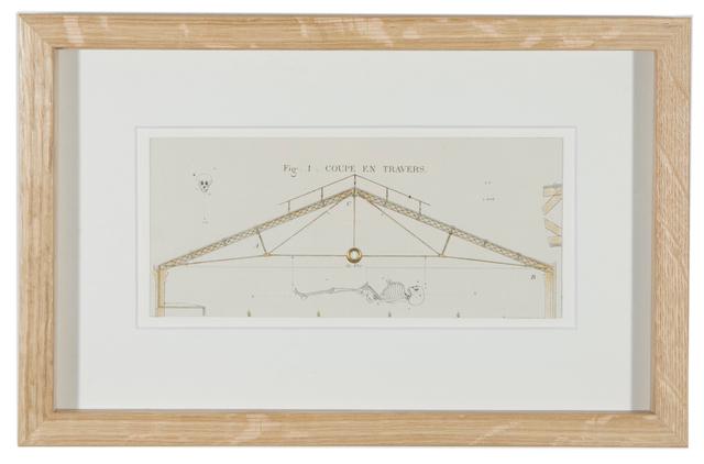 Philippe Favier, 'Quart de Tour (1)', 2009, Painting, Dessin gomme arabique et encre sur gravure, Wilde