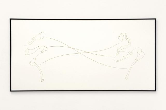 , 'Skelette der Stimmen, Part Ⅰ (pt. 3),' 2018, Micheko Galerie