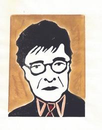 Mahmoud Darwish from the Poets in Heaven series