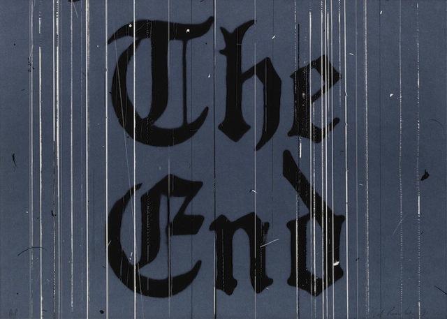 , 'The End,' 1991, Gregg Shienbaum Fine Art