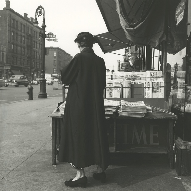 , '0125684 - New York, NY, June 12, 1954, Time Magazine Stand,' Printed 2017, KP Projects