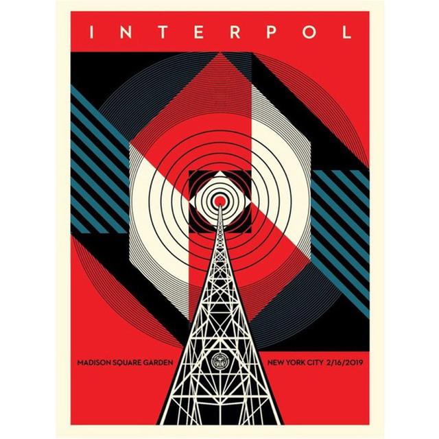 Shepard Fairey, 'Interpol NYC Calling', 2019, StolenSpace Gallery