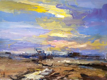 , 'Evening Sky,' 2018, Nicholas Roman Fine Art