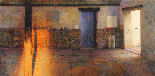 , 'A Stable Interior,' 2019, The Guild of Boston Artists