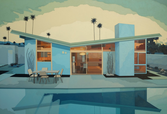 , 'Butterfly House with Pool, Palm Springs,' 2015, Cynthia Corbett Gallery