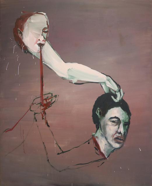 , 'Cabeça e ombro [Head and shoulder],' 2016, Casa Triângulo