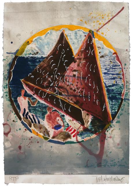 Malcolm Morley, 'Rite of Passage', 1989, Gemini G.E.L. at Joni Moisant Weyl