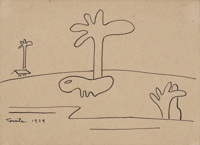 , 'Paisagem Com Bicho Antropofágico II,' 1939, Galeria Frente