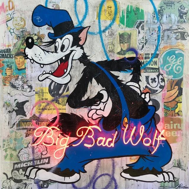 , 'Big Bad Wolf,' 2018, Galerie LeRoyer
