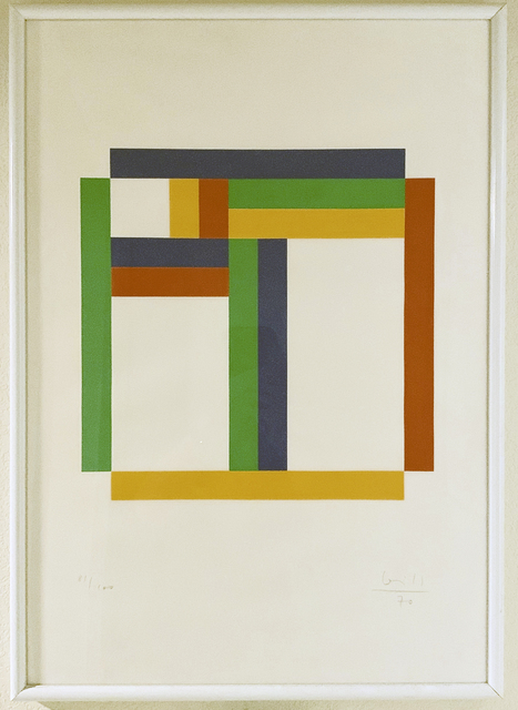 Max Bill, 'Untitled', 1970, Print, Silkscreen, iMuseum Vegas