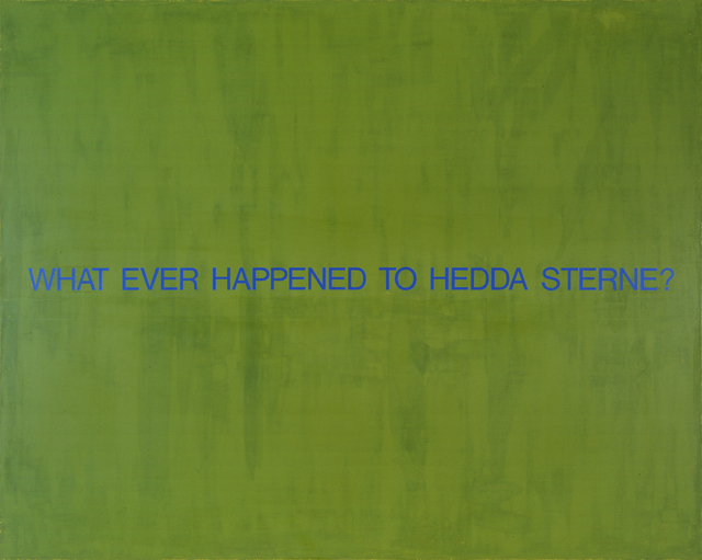 , 'What Ever Happened to Hedda Sterne?,' 1993, Postmasters Gallery