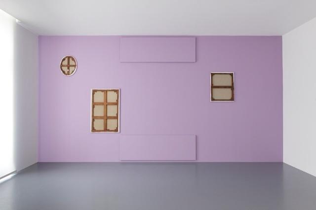 Claude Rutault, 'de-finition/method. between sky and earth', 2010, Perrotin