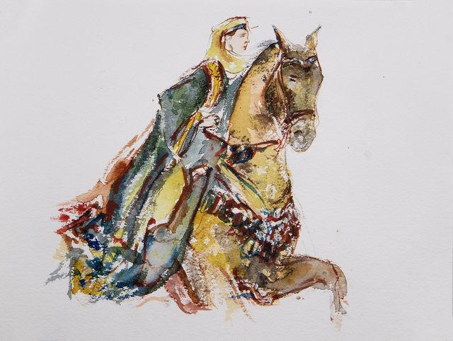 Yalda Sepahpour, 'Watercolor #1', 2019, Simard Bilodeau Contemporary