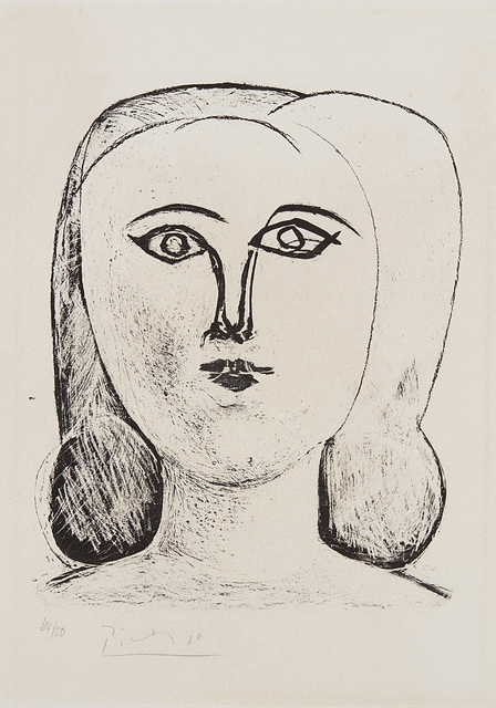 Pablo Picasso, 'Tête de jeune fille (Head of a Young Girl)', 1946, Phillips