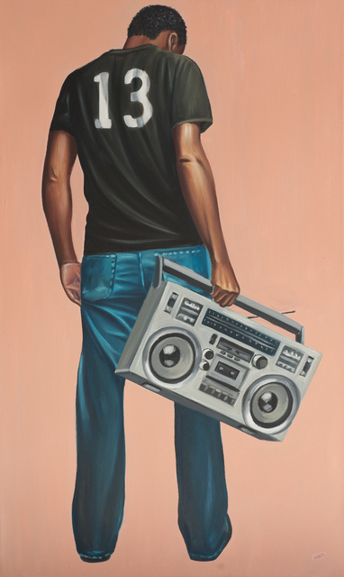 , 'Boom Box Nostalgia ,' 2017, EBONY/CURATED