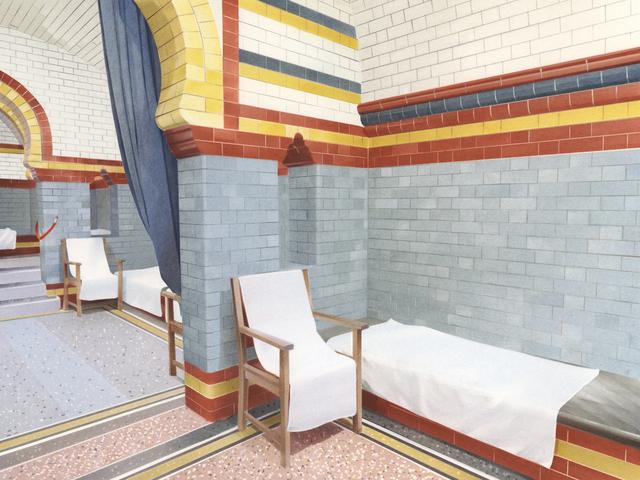 , 'Turkish Baths 01,' 2018, Tappan